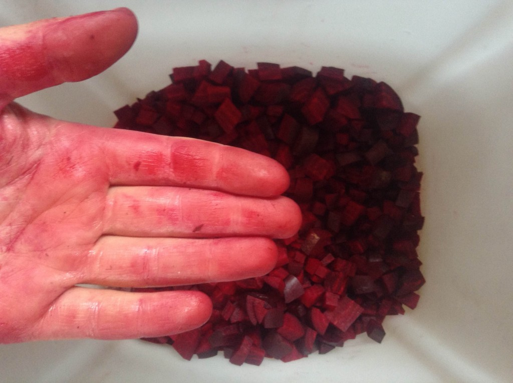 Beets and beet hand